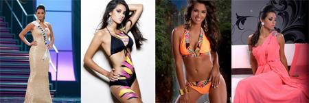 Miss Guatemala, Jessica Scheel.
