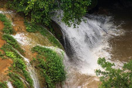 Rio Cahabon, Coban, Alta Verapaz, Guatemala.
