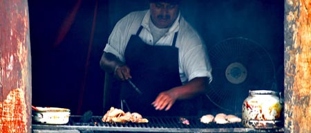 carne asada en churrasco de Guatemala