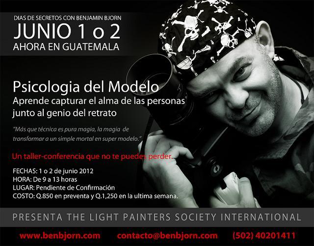 Curso de Fotografía en Guatemala por Benjamin Bjorn - Junio 2012