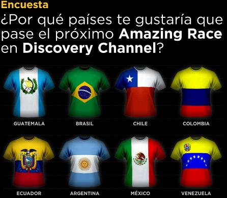 Discovery Channel: The Amazing Race podría pasar por Guatemala.
