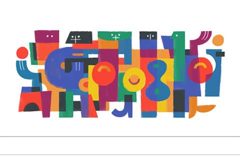 Carlos Mérida - Google le rinde homenaje con su doodle de hoy.