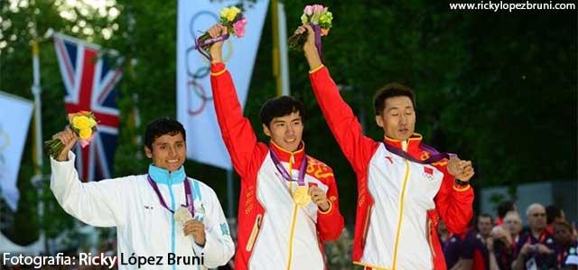Erick Barrondo de Guatemala, ganó Medalla de Plata en Juegos Olímpicos Londres 2012 en Marcha 20km.