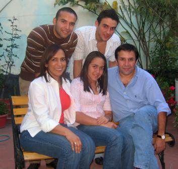Familia de Carlos Peña