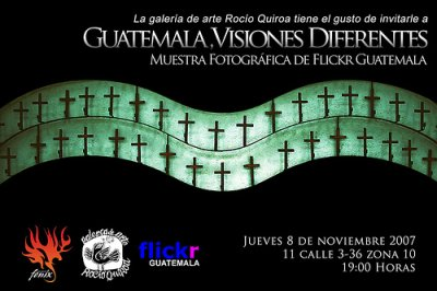 Exposición: Guatemala, Visiones diferentes