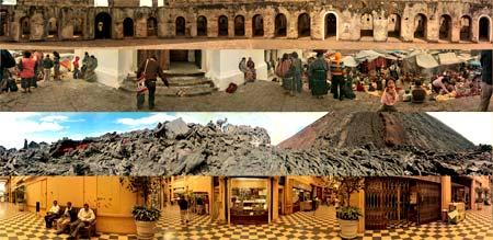 Fotografías panorámicas de Guatemala.