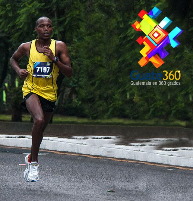 Corredor de Kenya gana primer lugar en Carrera 21k de Ciudad de Guatemala 2013