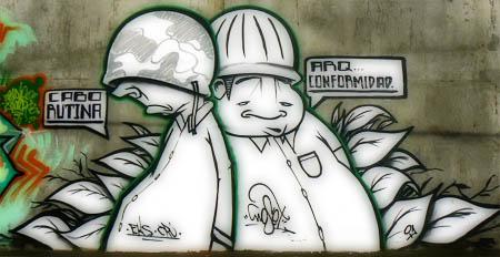Artes urbanas: Graffiti en Guatemala