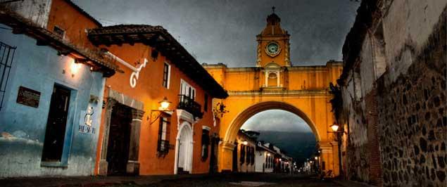 La Antigua Guatemala y el Arco de Santa Catarina