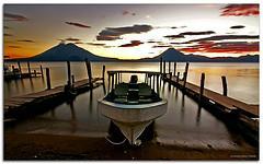 Lago de Atitlán de Guatemala