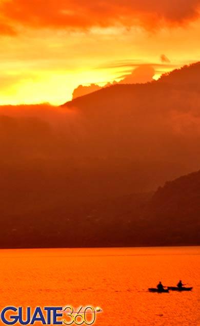 Atitlan Lake - Lago de Atitlan.