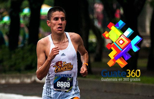 Luis Carlos Rivero, mejor guatemalteco de la 21k Ciudad de Guatemala 2013.