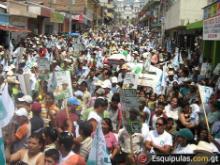 Mitín político en Esquipulas - por esquipulas.com.gt