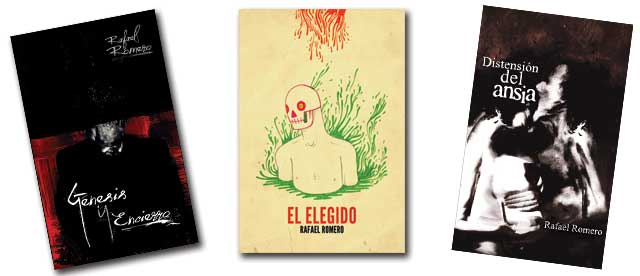 Obras de Rafael Romero, escritor de Guatemala.