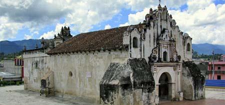 Iglesia de la Ermita de Concepción, la Conquistadora. En Salcajá, Quetzaltenango.