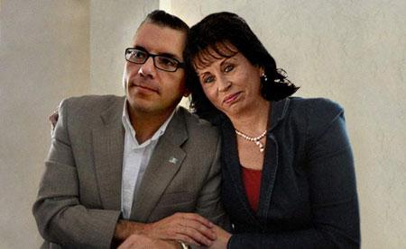 Sandra Torres y Manuel Baldizón