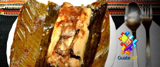 Tamales Rojos de Guatemala. Recetas de cocina para Tamales Colorados.
