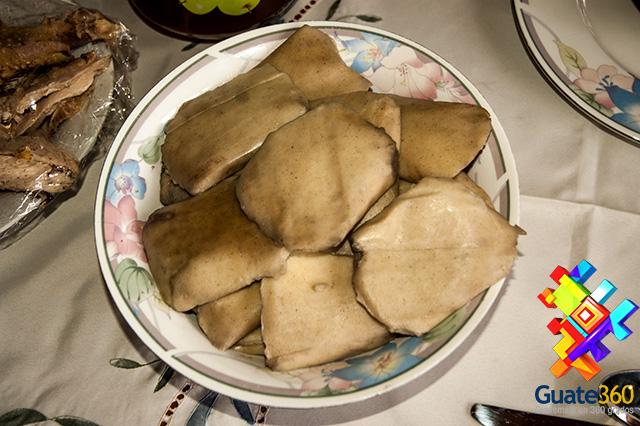La Comida de Guatemala se hace acompañar de Tamalitos de Maíz.
