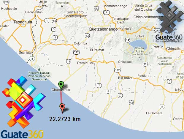 Temblor en Guatemala: magnitud 7.4