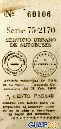 ticket de camioneta