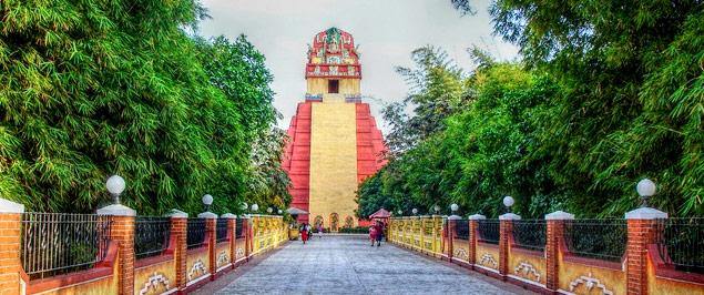 Xetulul, el Parque de Temático de Diversiones del IRTRA en Retalhuleu, Guatemala.