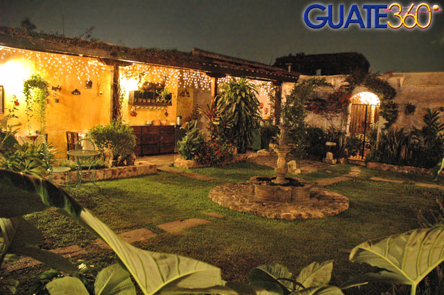 jardin colonial fotografia: