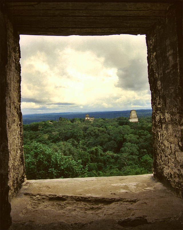 La ventana de Tikal