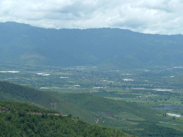 Vista de los valles de Baja Verapaz
