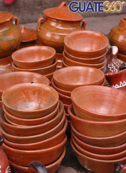 Guate360com Fotos De Artesanías Y Otros Objetos Escudillas De Barro